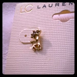 LC Lauren Conrad reindeer earrings